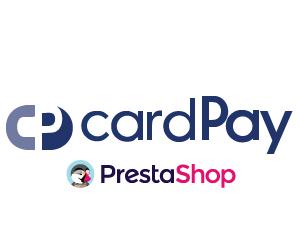 Logo Tatra banka CardPay pre platby kartou v PrestaShope