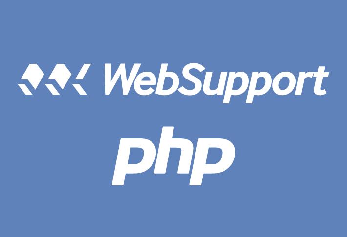 Websupportu o konci podpory PHP 5.6