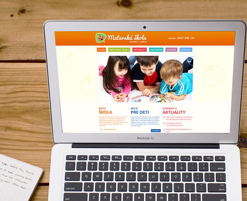 msazovska.sk - web materskej školy