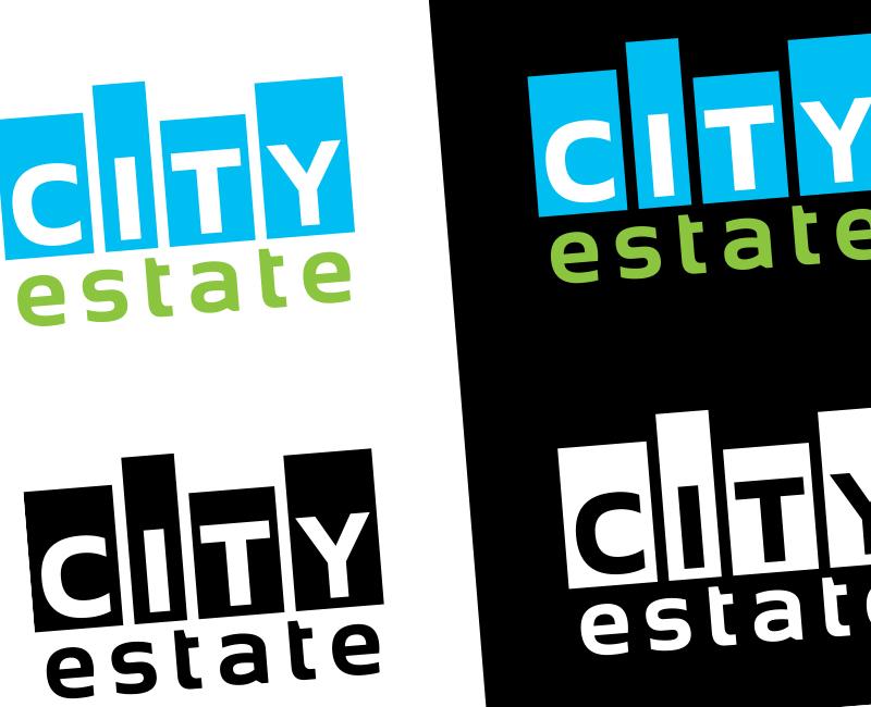 cityestate.sk - logotyp pre realitnú kanceláriu CityEstate