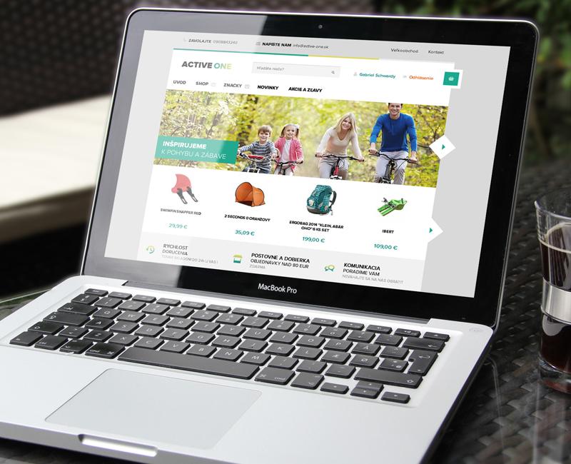 active-one.sk - e-shop pre predaj produktov pre aktívny život