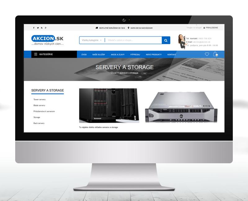 akcion.sk - e-shop predajcu rozličného tovaru.