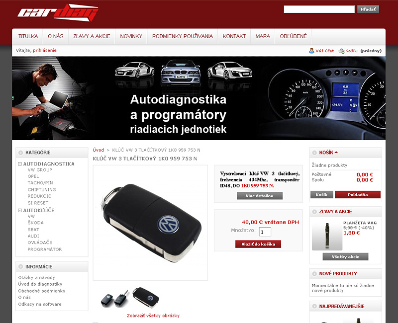 E-shop auto-diagnostika.sk