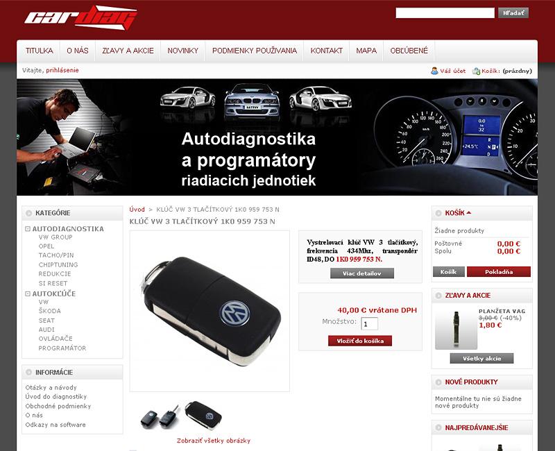 E-shop auto-diagnostika.sk