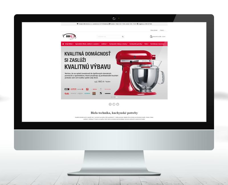 bbq.sk - e-shop predajcu grilov a príslušenstva.