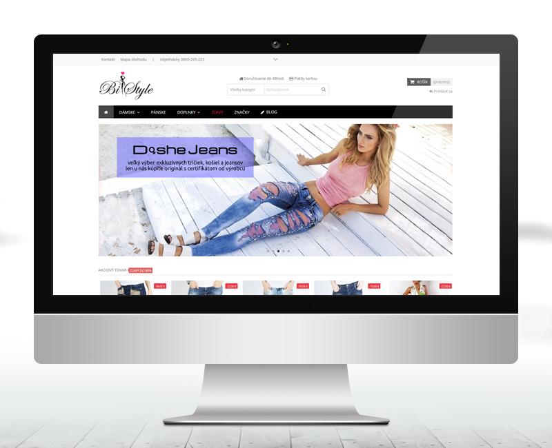 bistyle.sk - e-shop predajcu dámskeho módneho oblečenia.