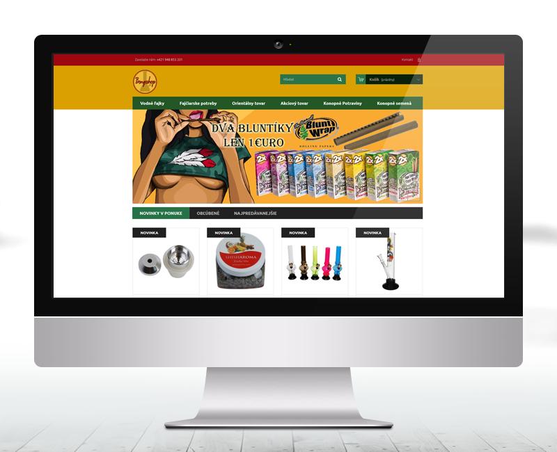 bongoshop.sk - e-shop predajcu orientálneho a fajčiarskeho tovaru.