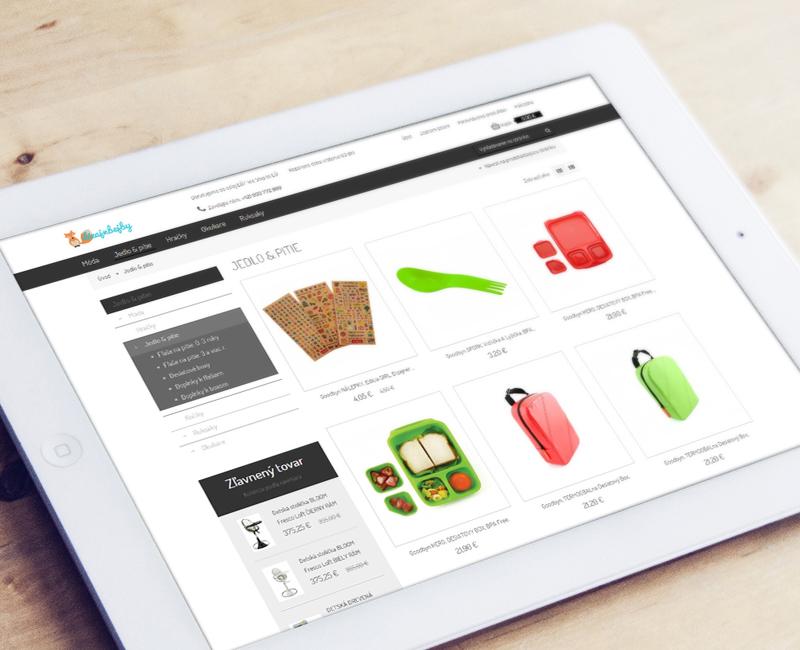 dizajnbejby.sk - e-shop s dizajnovými výrobkami pre deti