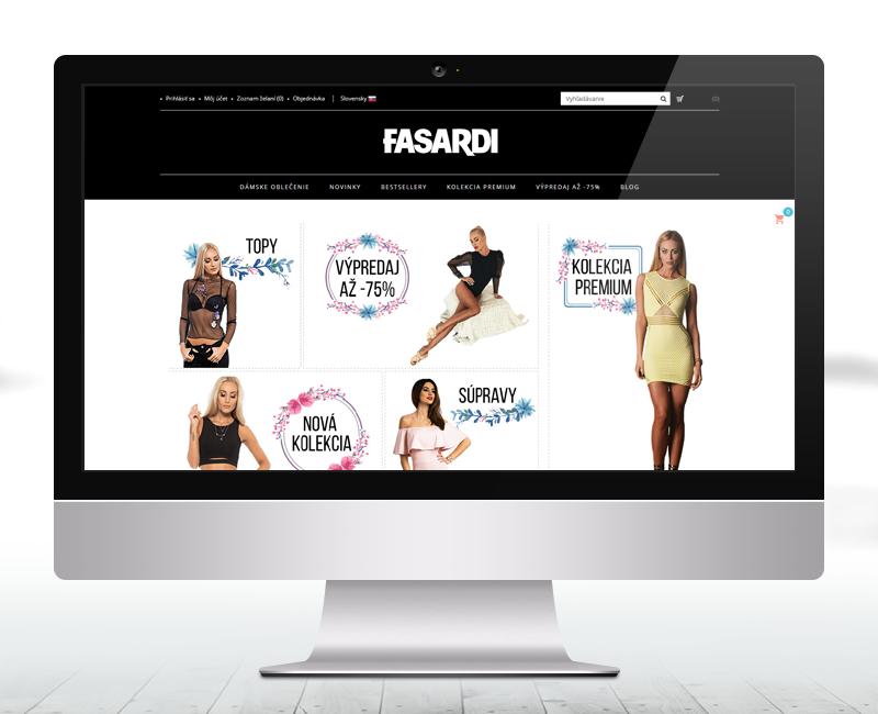 fasardiofficial.sk - e-shop predajcu oblečenia značky Fasardi.