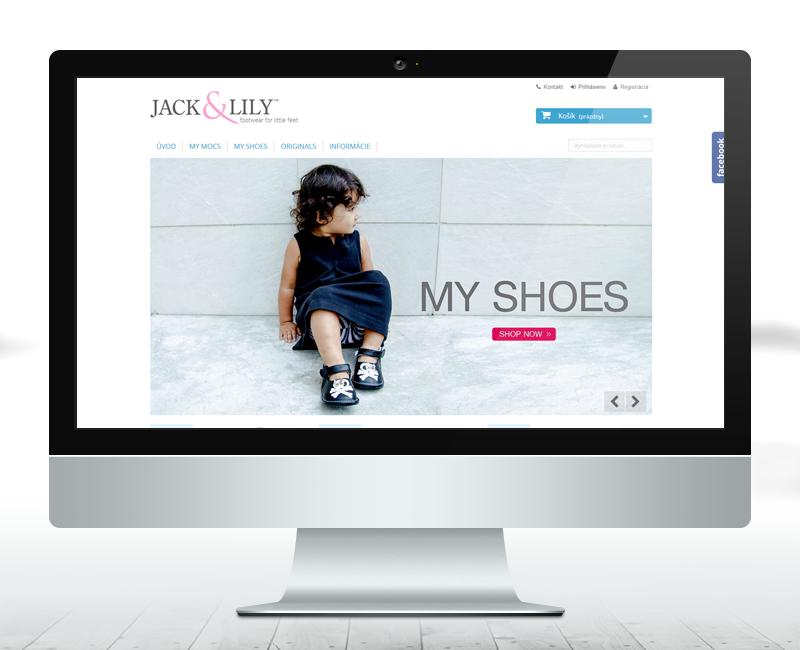 jackandlily.sk - e-shop predajcu značkového oblečenia pre deti.