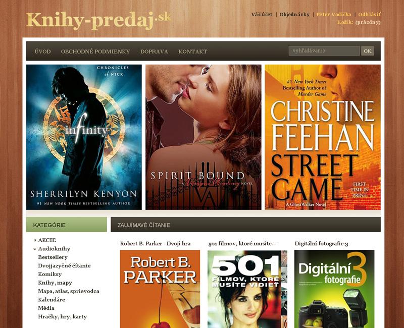 Knihy-Predaj.sk - e-shop pre predaj kníh