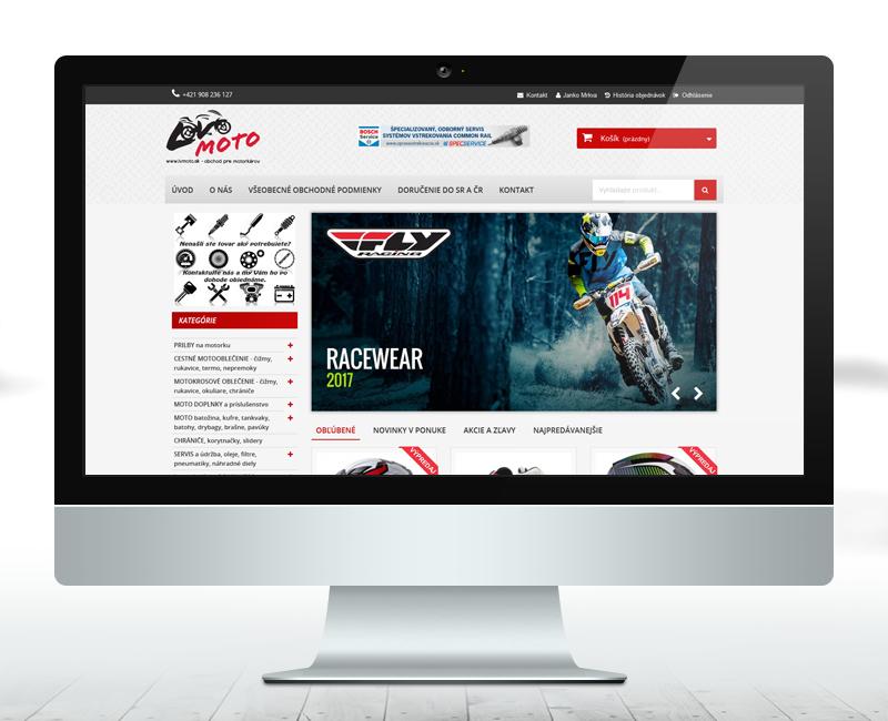 lvmoto.sk - e-shop predajcu príslušenstva pre motorkárov.