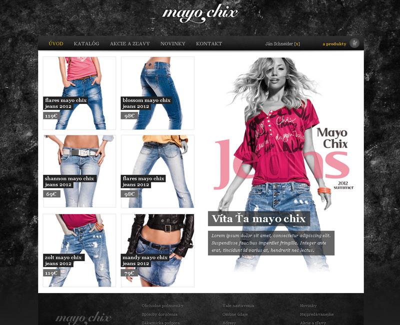 shop.mayochixricany.cz - e-shop pre predaj oblečenia značky Mayo Chix