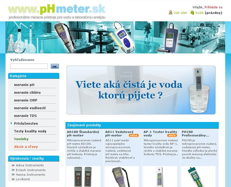 Es-hop PHmeter.sk