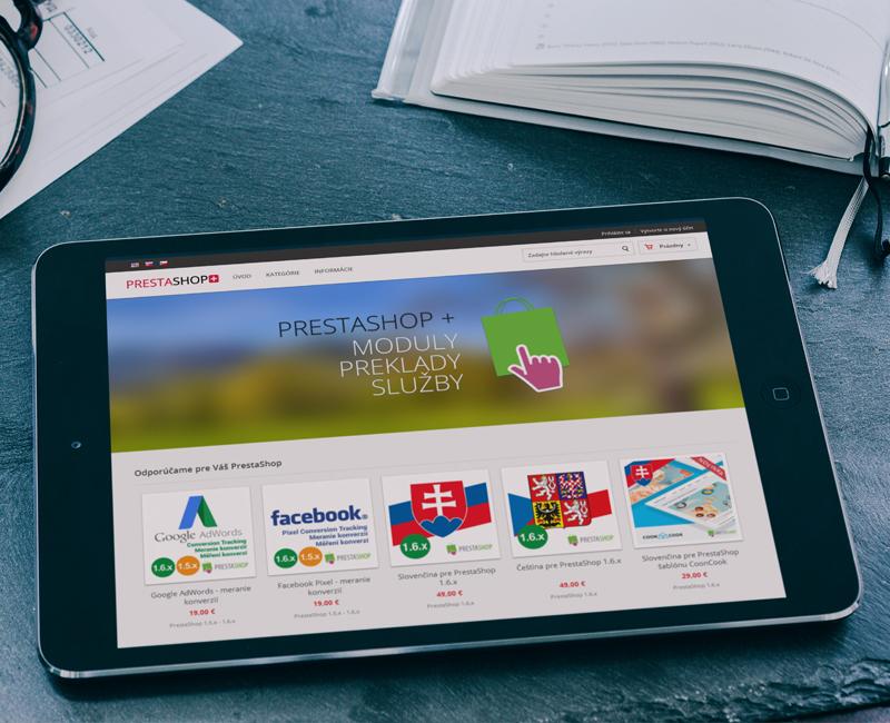 prestashop-plus.eu - e-shop pre predaj modulov pre PrestaShop