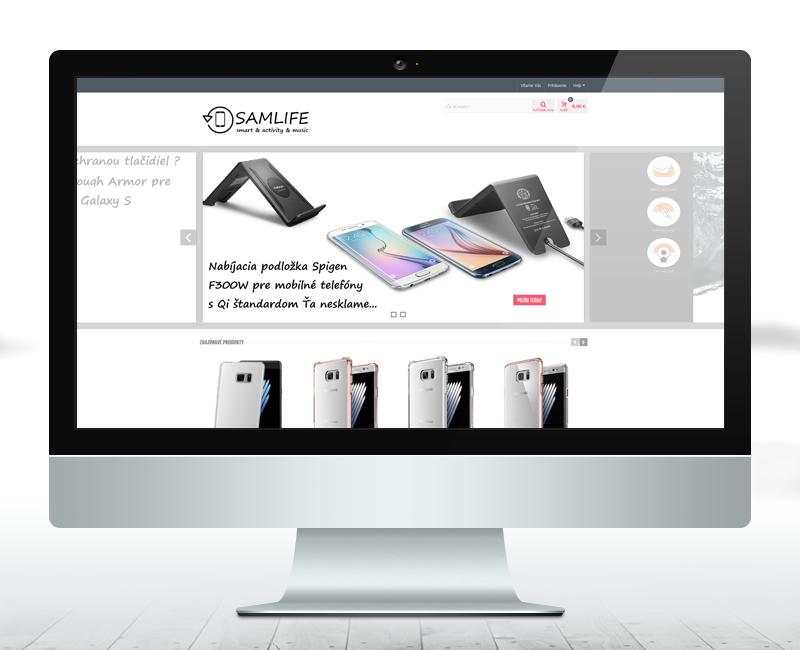 samlife.sk - e-shop predajcu príslušenstva pre telefóny Samsung.