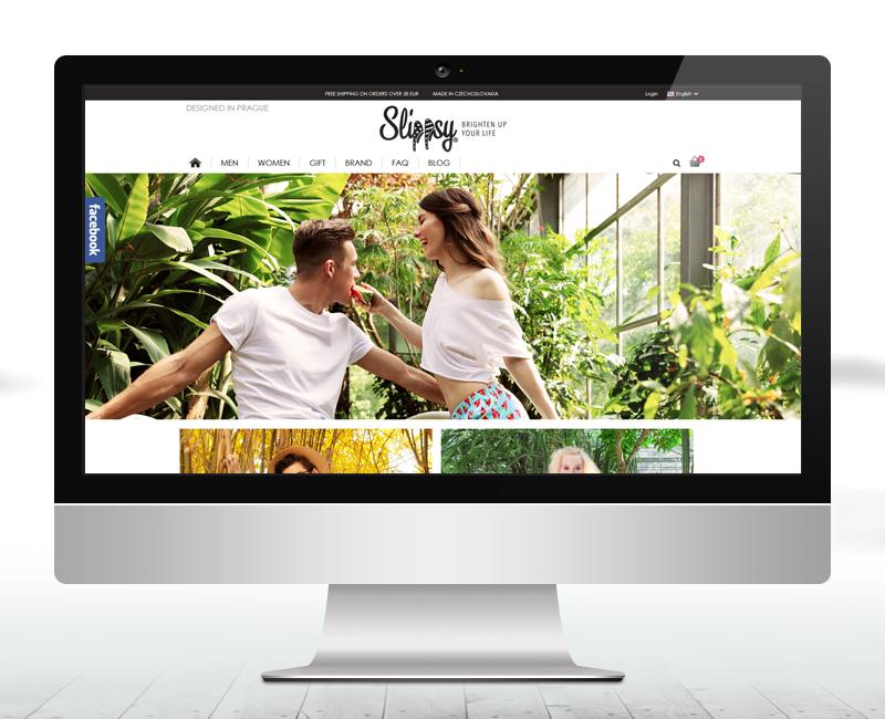 slippsy.com - e-shop výrobcu dizajnových papúč.