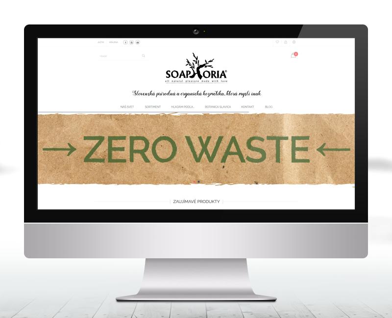 soaphoria.sk - e-shop výrobcu prírodnej kozmetiky.