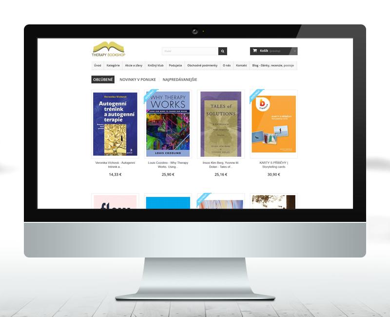 therapybookshop.eu - e-shop predajcu kníh.