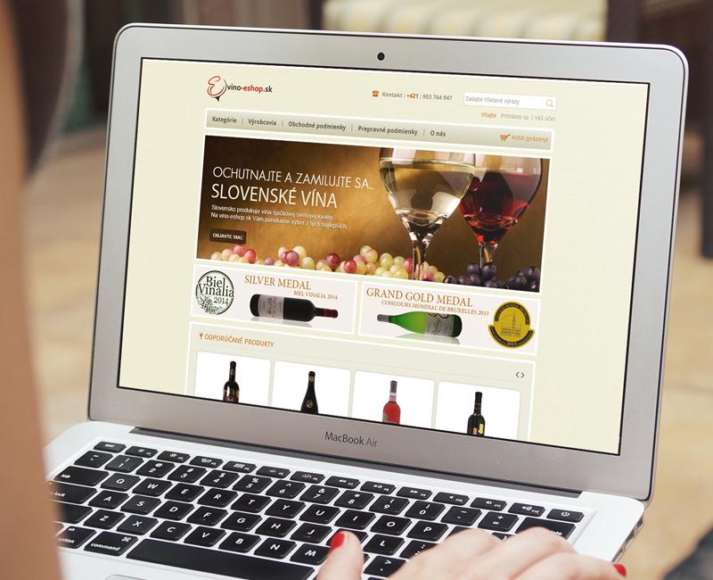 vino-eshop.sk - e-shop pre predaj vín