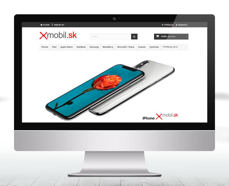 xmobil.sk - e-shop predajcu príslušenstva pre mobily.