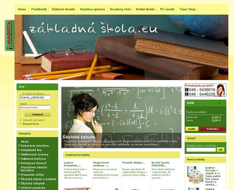 E-shop zakladnaskola.eu