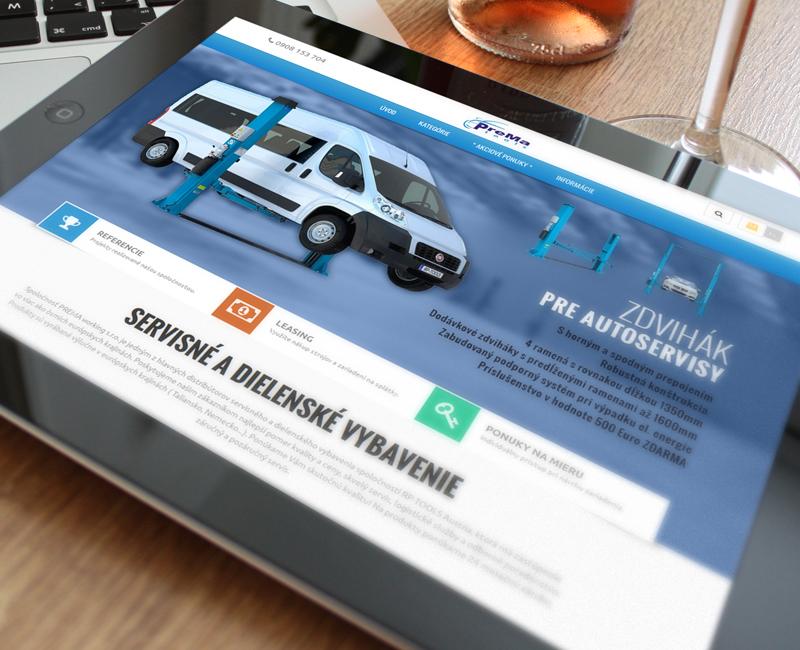 prematools.eu - e-shop distribútora servisného a dielenského vybavenia