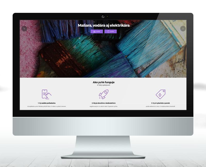 yuve.com - web distribúcie služieb.