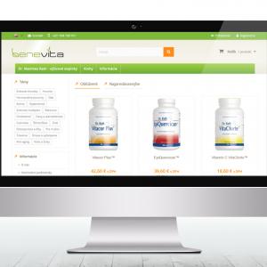 benevita.sk - e-shop s výživovými doplnkami Dr. Matthias Rath